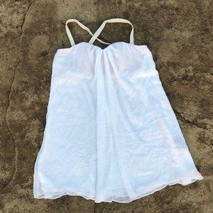 Elizabeth & James Chiffon Mini Tunic Dress